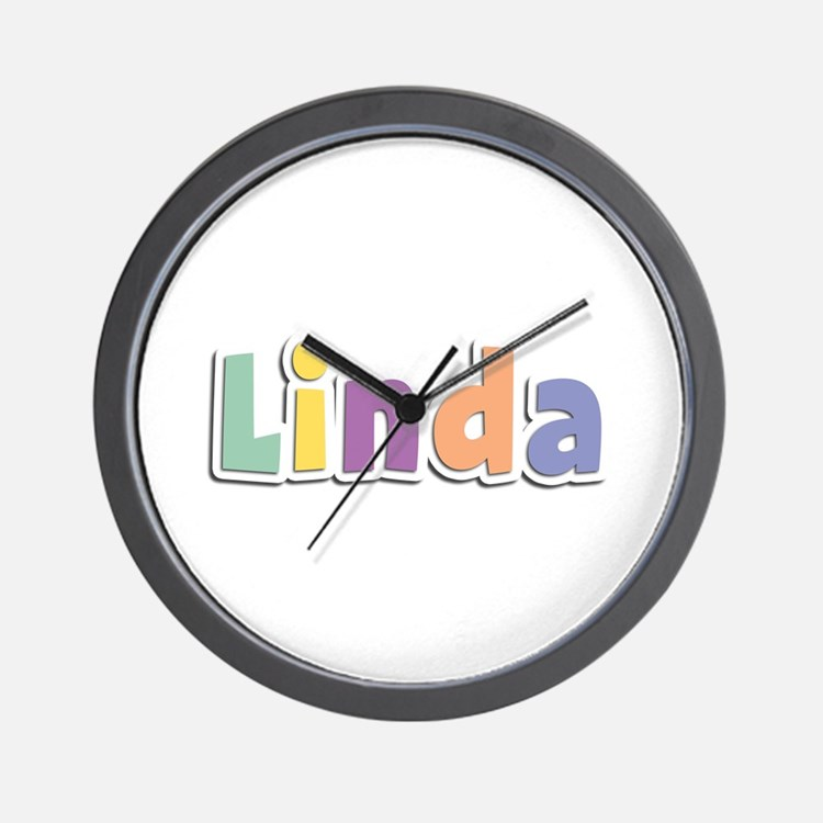 Linda Spring14 Wall Clock