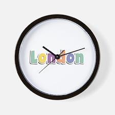 London Spring14 Wall Clock