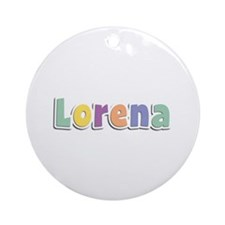 Lorena Spring14 Round Ornament
