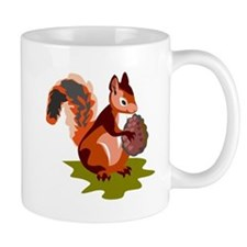 Colorful Squirrel Mug