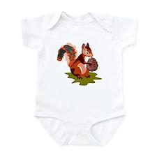 Colorful Squirrel Infant Bodysuit