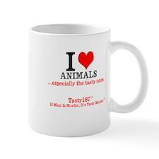 I Love Animals...especially The Tasty Ones Mugs