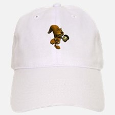 3D Squirrel with Acorn Baseball Baseball Cap