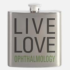 Live Love Ophthalmology Flask