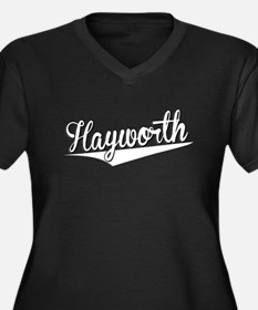 Hayworth, Retro, Plus Size T-Shirt