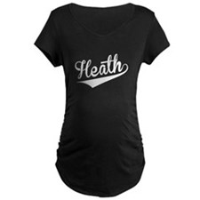 Heath, Retro, Maternity T-Shirt