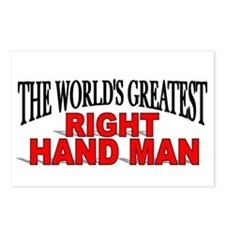"""""""The World's Greatest Right Hand Man"""" Postcards (P"""
