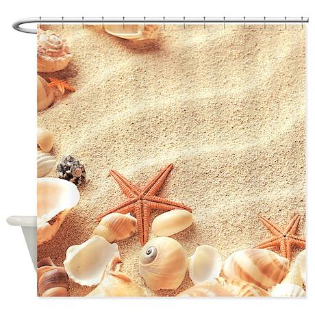 Seashells Shower Curtain By BestShowerCurtains
