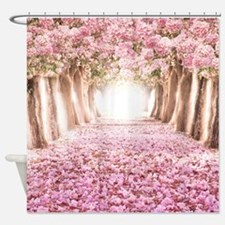 Romantic Road Shower Curtain