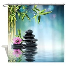 Zen Reflection Shower Curtain