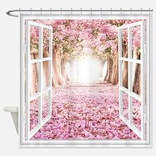 Romantic View Shower Curtain