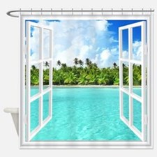 Island View Shower Curtain
