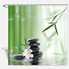 Zen Reflection Shower Curtain