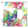Colorful Parrots Shower Curtain