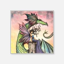 A Distant Place Fairy and Dragon Fantasy Art Stick