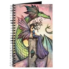 A Distant Place Fairy and Dragon Fantasy Art Journ