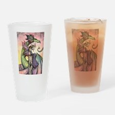 A Distant Place Fairy and Dragon Fantasy Art Drink