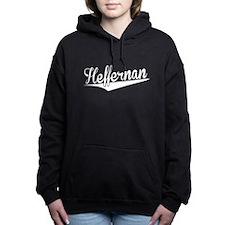 Heffernan, Retro, Women's Hooded Sweatshirt