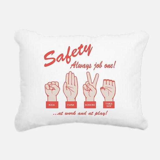 R-P-S-TS Rectangular Canvas Pillow