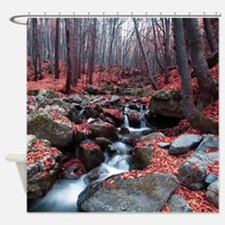 Woodland Stream Shower Curtain