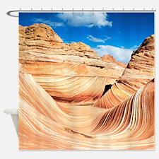 Desert Canyon Shower Curtain