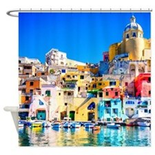 Naples Italy Shower Curtain