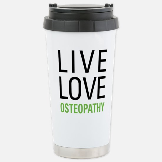 Osteopathy Stainless Steel Travel Mug