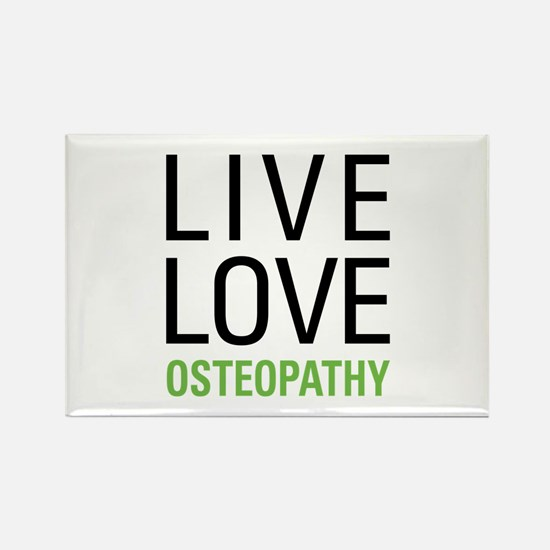 Osteopathy Rectangle Magnet