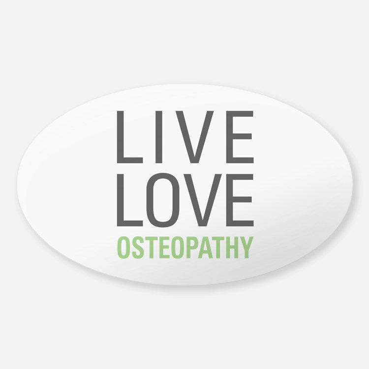 Osteopathy Decal