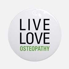 Osteopathy Ornament (Round)