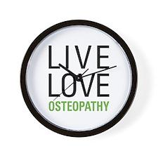 Osteopathy Wall Clock