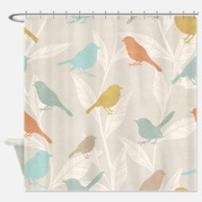 Pretty Birds Shower Curtain