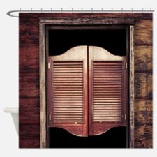 Saloon Doors Shower Curtain