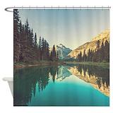 Glacier national park Shower Curtains
