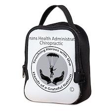 VA Chiropractic Neoprene Lunch Bag