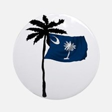 SOUTH CAROLINA NOW Round Ornament