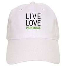 Live Love Paintball Baseball Cap
