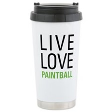 Live Love Paintball Travel Mug