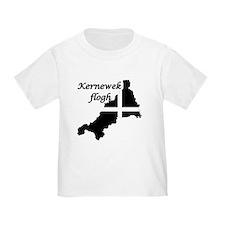 Kernewek flogh (Cornish Kid) T-Shirt