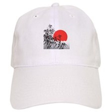 Asian Sunset Baseball Baseball Cap