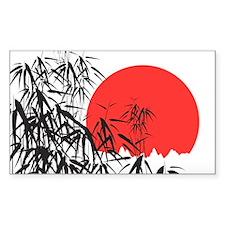 Asian Sunset Decal