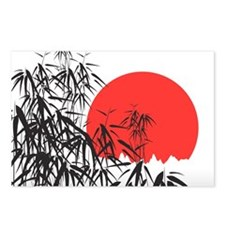 Asian Sunset Postcards (Package of 8)