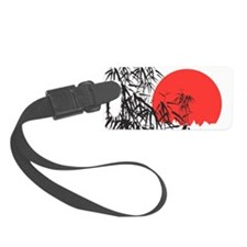 Asian Sunset Luggage Tag