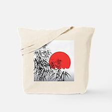 Asian Sunset Tote Bag