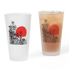Asian Sunset Drinking Glass