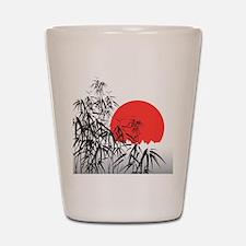 Asian Sunset Shot Glass
