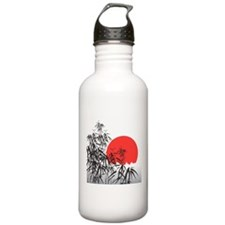 Asian Sunset Water Bottle