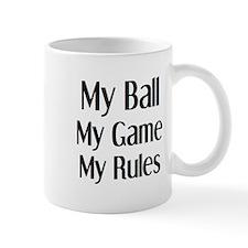 my ball game rules Mug