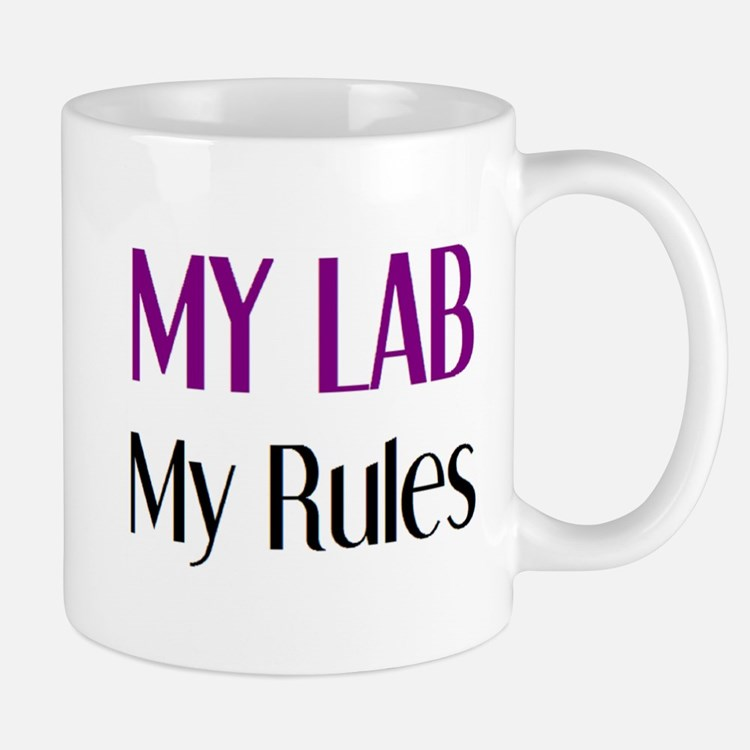my lab rules Mug