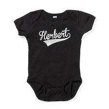 Herbert, Retro, Baby Bodysuit
